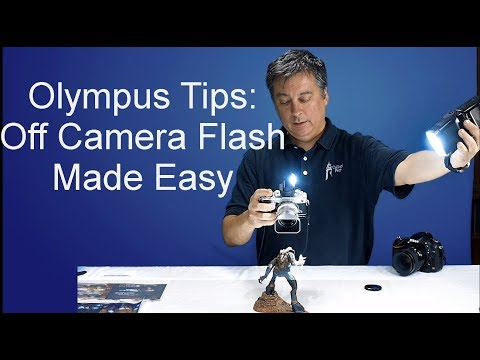 Olympus Tutorial: Easy Off Camera Flash ep.29