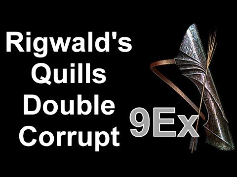 Rigwald's Quills 9Ex Double Corrupt (Path Of Exile: Legion)