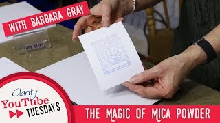 Stamping How to - The Magic of Mica Powder