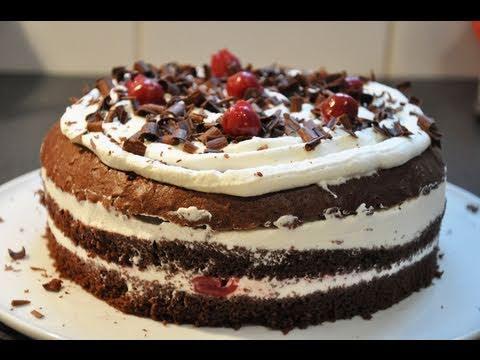 Recette gâteau de Noël : la fôret noire, par Hervé Cuisine (US ...
