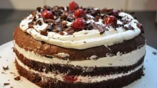 Recette gâteau de Noël : la fôret noire, par Hervé Cuisine (US subtitles)