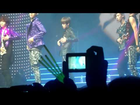 [FANCAM] EXO-K - Angel (part 1) @ MBC Korean Music Festival in London