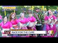Colorful characters make Cincinnati's Race for the Cure Pink Ribbon Walk a brighter time
