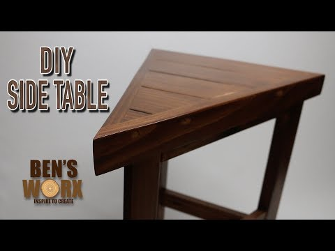 MAKING A WOODEN SIDE TABLE