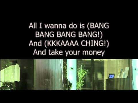 M.I.A - Paper Planes (karaoke)