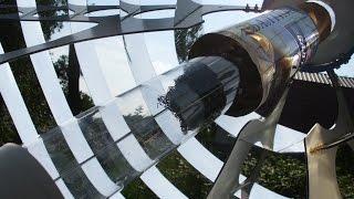 Солнечный термоакустический двигатель