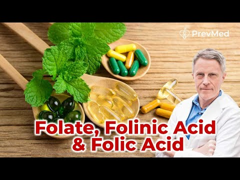 Folate, Folinic Acid & Folic Acid