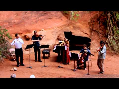 Cancion by Alberto Ginastera - Flute and String Quartet - Moab Music Festival 2011