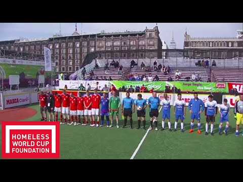 Greece v Wales  | FULL MATCH | Day 6, Pitch 3 | Homeless World Cup 2018