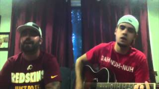 who i am with you chris young cover by rick and derek