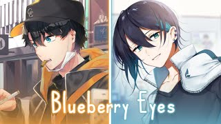 「Nightcore」Blueberry Eyes - MAX ft. SUGA | Lyrics switching vocals