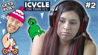 Lets Play ICYCLE: ON THIN ICE!  Mom Plays!!   (Part 2)
