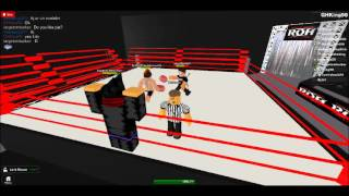 ROH Wrestling (ROBLOX): Part 5