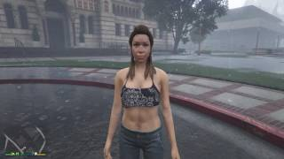 Grand Theft Auto V - Booty call Liz (Without the Private Taxi Fare)