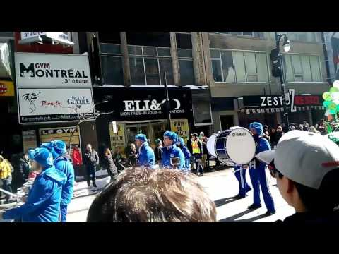 St Patrick Parade in Montreal 2017