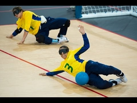 Goalball highlights - London 2012 Paralympic Games