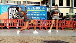 geito style dj amenofis show arona summer festival project 2016