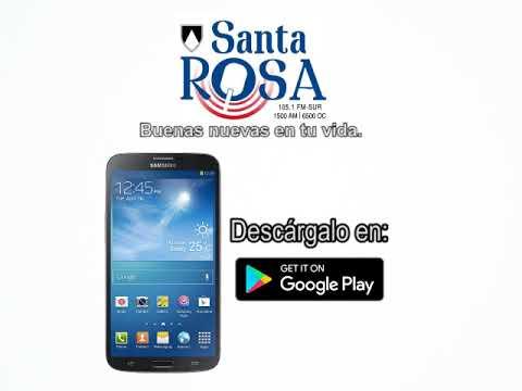 Escuchanos desde tu celular bajando la App de Radio Santa Rosa