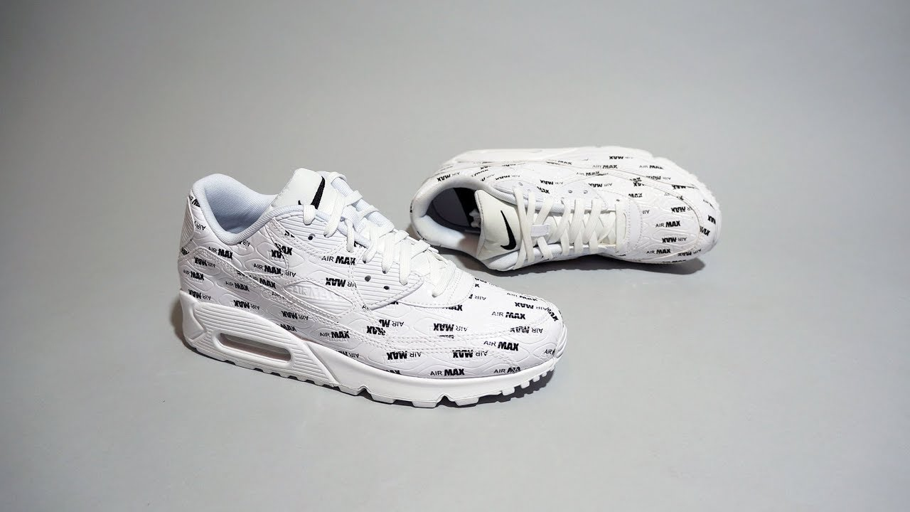 Nike Air Max 90 Premium White Black 700155 103