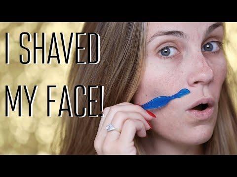 HOW I SHAVE MY FACE | ANGELA LANTER