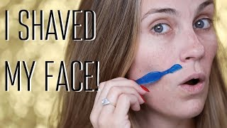 HOW TO SHAVE YOUR FACE