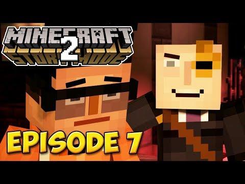 LA PRISON DE L'ADMIN | Minecraft Story Mode S2 #7