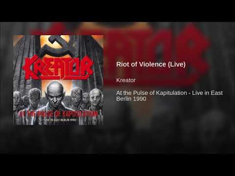 Riot of Violence (Live)