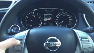 How to Reset Nissan X-Trail ODO Service Maintenance Message