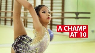 A Gymnastics Champ At 10 | On The Red Dot | CNA Insider