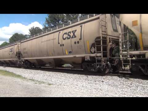 9 Engine CSX Train (w/ ST70AH) meets America's Longest Passenger Train from YouTube · Duration:  5 minutes 4 seconds