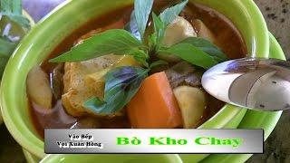 Bò Kho Chay - Xuân Hồng (Vào Bếp Với Xuân Hồng)
