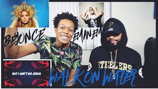 Eminem - Walk On Water (Audio) ft. Beyoncé | FVO REACTION