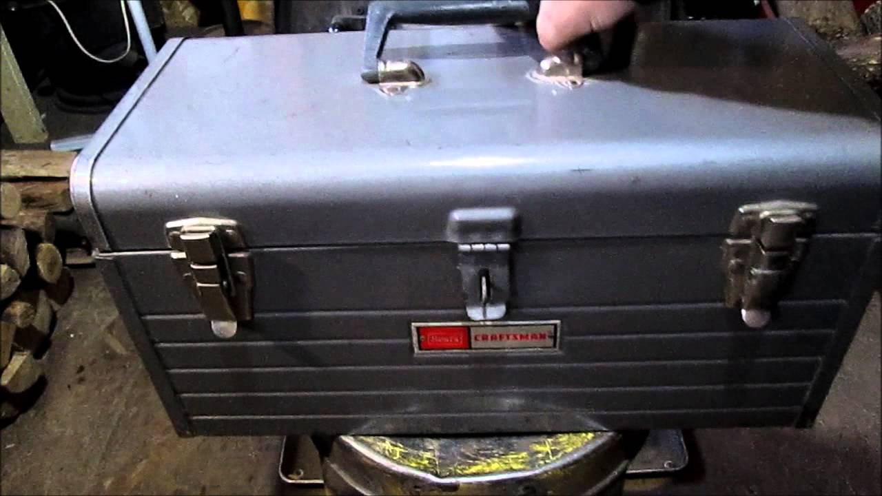 Older Sears Craftsman Tool Box - YouTube