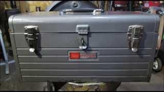 Older Sears Craftsman Tool Box