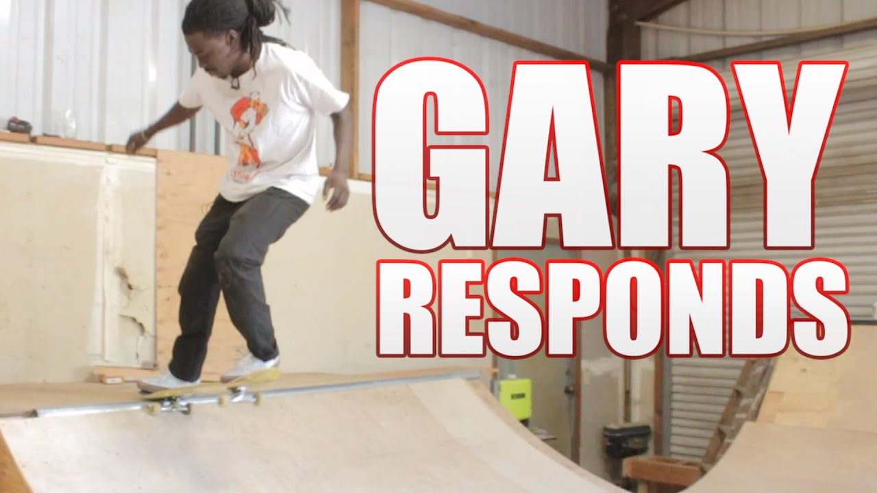Gary Responds To Your SKATELINE Comments - G Baby,  King Tut, You Got Served