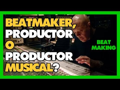 ¿Que es un BEATMAKER? ✅ ¿Que hace un PRODUCTOR MUSICAL DE RAP? ✅ ¿Y uno de MÚSICA GENERAL? 🎼