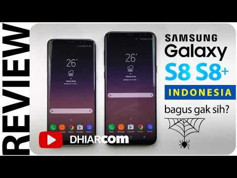 REVIEW SAMSUNG GALAXY S8 S8+ INDONESIA, Bagus Gak Sih? - YouTube