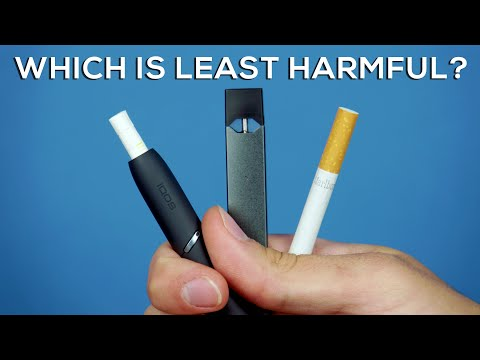 Vaping vs Smoking vs IQOS: Which is Least Harmful? 🚬
