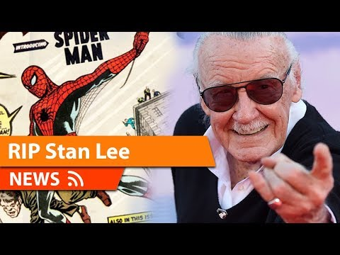 Stan Lee Thank you For Everything May You Rest In Peace