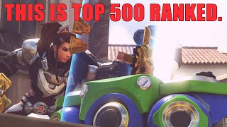 This is Overwatch Top 500 In 2019...