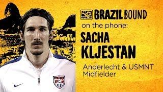 US International Sacha Kljestan on Belgium | Brazil Bound