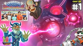 Lets Play SKYLANDERS SUPERCHARGERS Chapter 1: Skylands in Chains (Introduction)