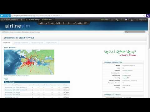Airlinesim Tutorials 4 - Owning aircraft, leasing aircraft,