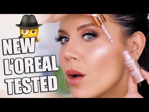 L'OREAL LUMI GLOW FACE & LIPS New Drugstore Makeup