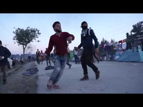 Grčija 18 5 2016 migrantske horde na pohodu