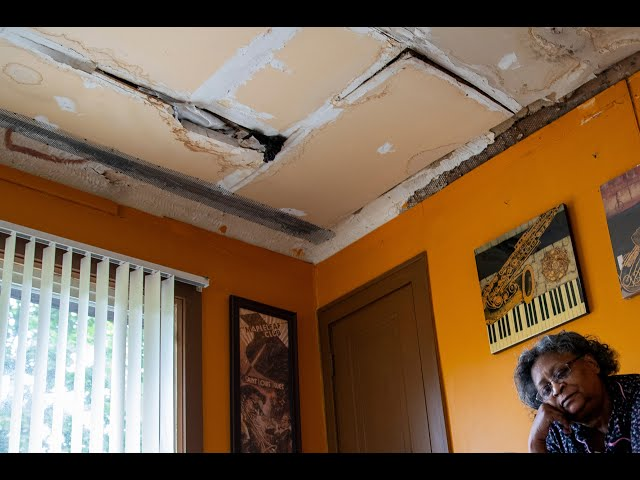 Couple with leaking roof gets urgent repairs