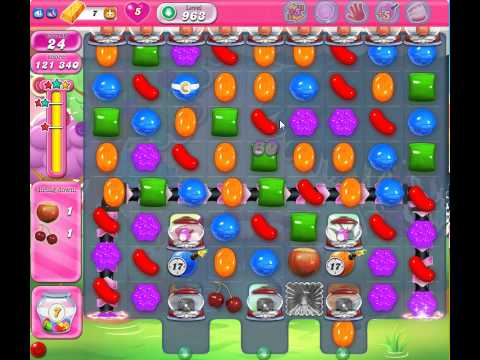 Candy Crush Saga Level 963 No Booster