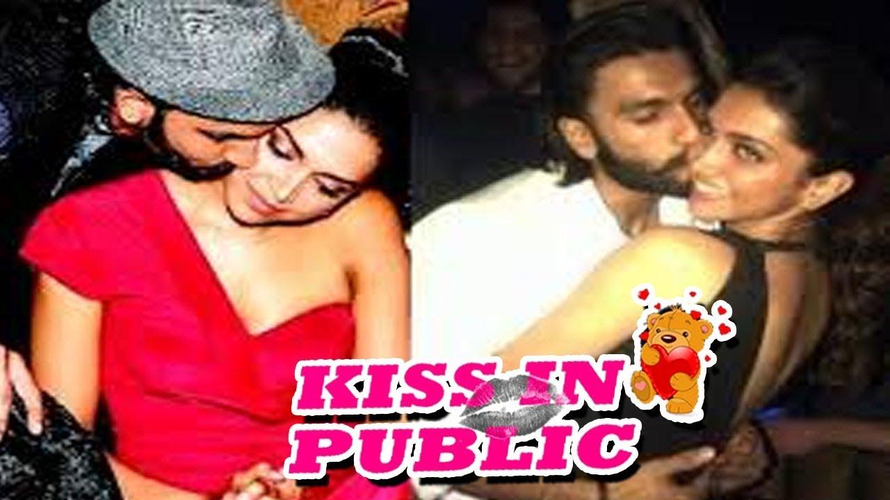 Deepika Padukone और Ranveer Singh के बीच सेक्सी चुंबन