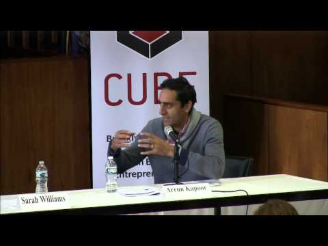 CUBE Symposium: Innovations in Financing Social Good - Panel 1