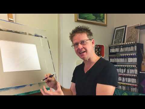 How to draw straight lines freehand